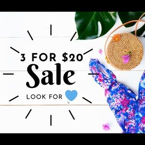 Other - 💙💙💙 3 items for ONLY $20!!! 💙💙💙